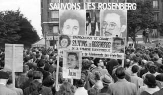 Protest over the Rosenbergs in France