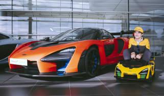 McLaren Senna Ride-On Lando Norris
