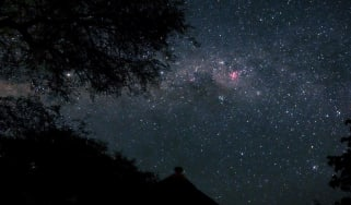 Stargazing in Kruger Park, South Africa