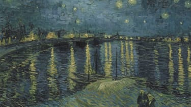 Vincent van Gogh's Starry Night over the Rhone (1888)