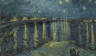 Vincent van Gogh's Starry Night over the Rhone (1888)
