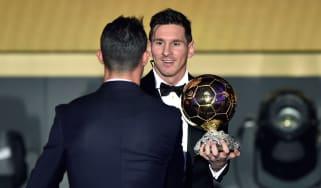 Lionel Messi wins Ballon d'Or 2015