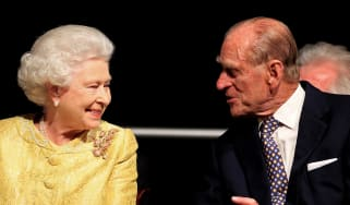 Queen Elizabeth II and Prince Philip, Duke of Edinburgh.