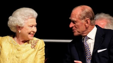 Queen Elizabeth II and Prince Philip, Duke of Edinburgh.