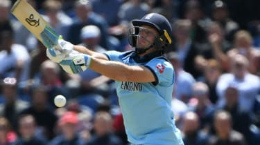 England's Jos Buttler scored 64 in the win against Bangladesh in Cardiff