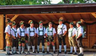 Yodellers in Germany