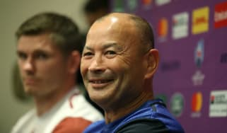 England head coach Eddie Jones speaks to the media ahead of the Rugby World Cup semi-final