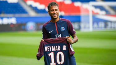 In August 2017 Neymar completed his record-breaking move from Barcelona to Paris Saint-Germain