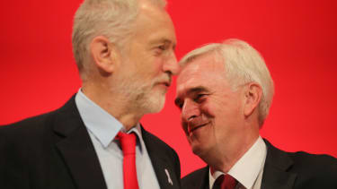 Long-time Eurosceptics and reluctant Remainers John McDonnell and Jeremy Corbyn