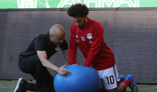Mohamed Salah Egypt World Cup fitness