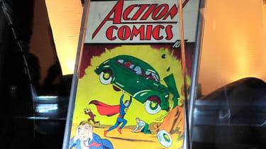 A copy of Action Comics No. 1