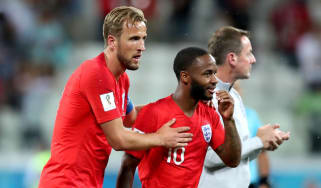 Croatia vs. England Harry Kane Raheem Sterling