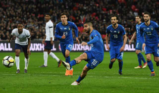 England 1 Italy 1 VAR penalty Wembley