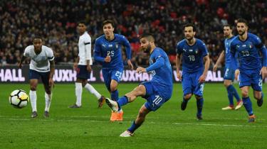 England 1 Italy 1 VAR penalty Wembley