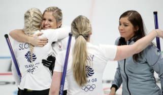 Team GB women curling Winter Olympics