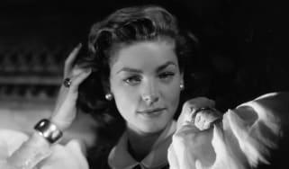 American actress Lauren Bacall