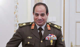 Former Egyptian army chief, Abdel Fattah al-Sisi
