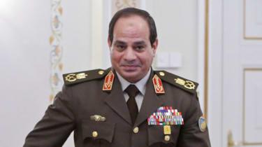 Former Egyptian army chief, Abdel Fattah al-Sisi
