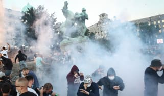 Protests Serbia