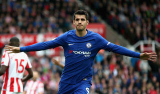 Chelsea striker Alvaro Morata previously played for Real Madrid and Juventus