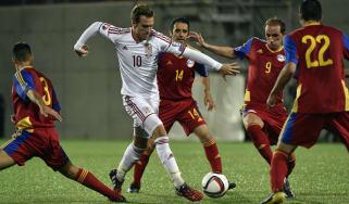 Aaron Ramsey Wales v Andorra