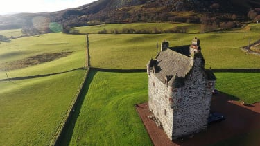 A Stay One Degree castle in Scotland