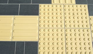 Tenji blocks, tactile paving