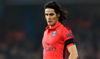 Edinson Cavani of Paris Saint-Germain
