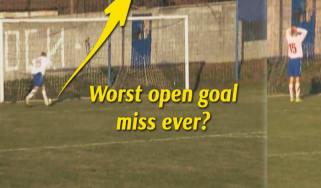 Worst open goal