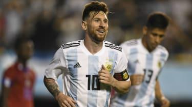 2018 World Cup Argentina Lionel Messi