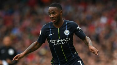 Raheem Sterling Manchester City England