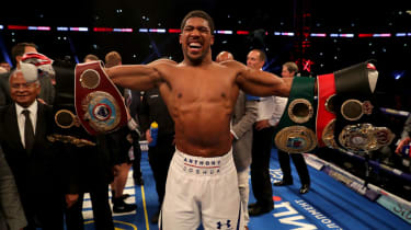 Anthony Joshua is the reigning IBF, WBA (Super), IBO and WBO heavyweight boxing champion
