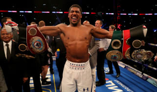 Anthony Joshua is the reigning IBF, WBA (Super), IBO and WBO heavyweight boxing champion