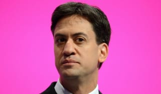 Ed Miliband at the Manchester Labour Party Conference