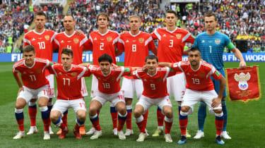 Russia vs. Saudi Arabia World Cup