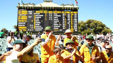 David Warner Ashes cricket Adelaide