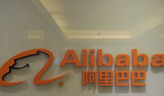 The logo of Alibaba.com