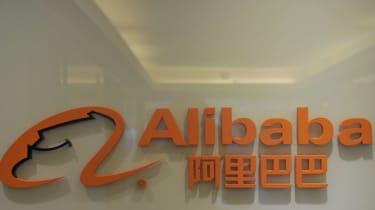 The logo of Alibaba.com