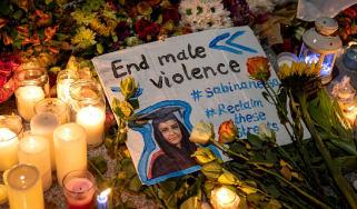 A candlelit vigil held for murdered primary school teacher Sabina Nessa