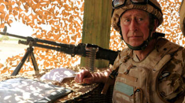 Prince Charles in Afghanistan