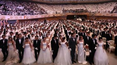 Moonies mass wedding