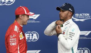 F1 Sebastian Vettel Ferrari Mercedes Lewis Hamilton