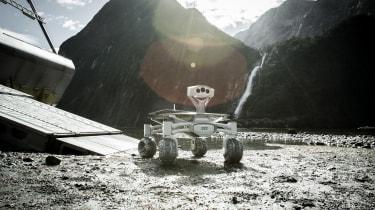 Audi lunar rover