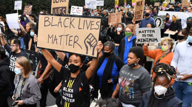 Black Lives Matter protesters in London