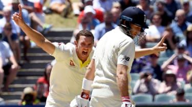 Josh Hazlewood Chris Woakes Ashes cricket