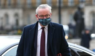 Michael Gove arrives at No. 10 Downing Street