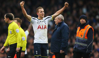 Harry Kane of Spurs
