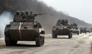 Ukrainian government's forces in Eastern Ukraine