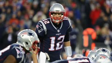 Tom Brady 2018 Super Bowl Patriots v Eagles