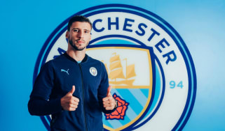 Portuguese defender Ruben Dias had completed a £65m move to Man City